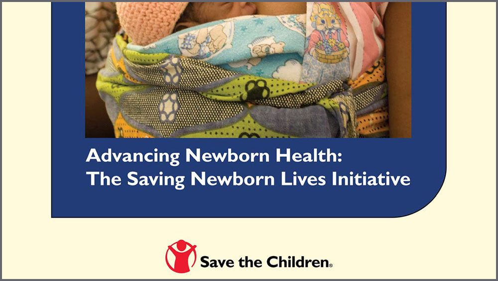 Save The Children: Saving New Borns